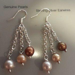 Cultured Freshwater Pearls Earrings